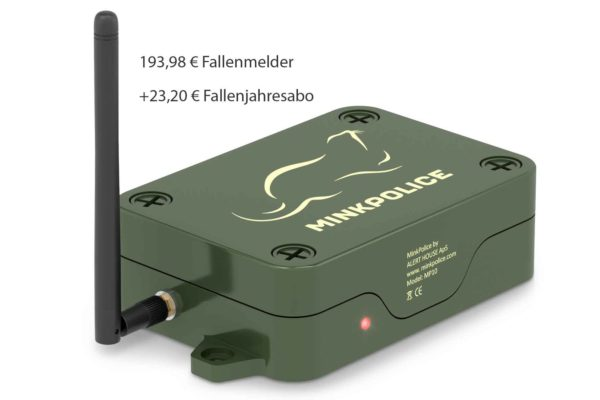 MP10 Fallenmelder Rote LED mit 16 Prozent MwSt